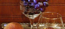 Виноград в коньяке