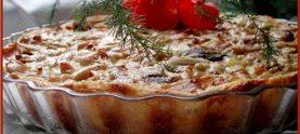 Картофельный пирог с брынзой