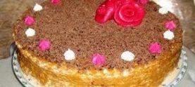 Вафельный торт «Ливадия»