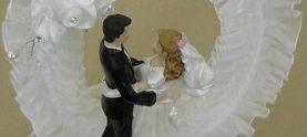 Свадебный торт-безе