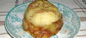 Десерт «Яблочный сюрприз»