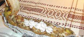 Банановый десерт «Кораблик»
