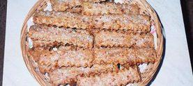Печенье с брынзой