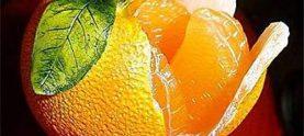 Апельсиново-кофейный десерт