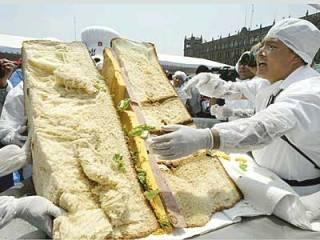 Самый большой бутерброд