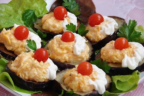 Закуски из баклажанов рецепты с фото
