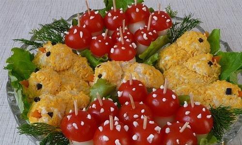 фоторецепты салатов закусок