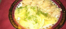 Овощи в сливочном соусе