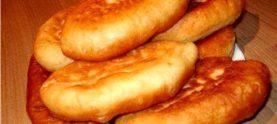 Жареные пирожки с куриными желудками