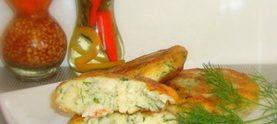 Котлеты из цветной капусты с сырным соусом
