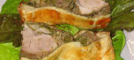 Мясо на грибной подушке